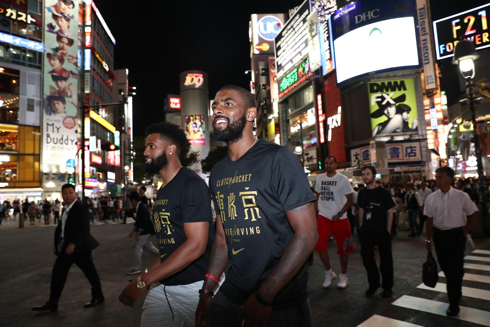 Kyrie Irving Tours Asia with Nike Basketball 19