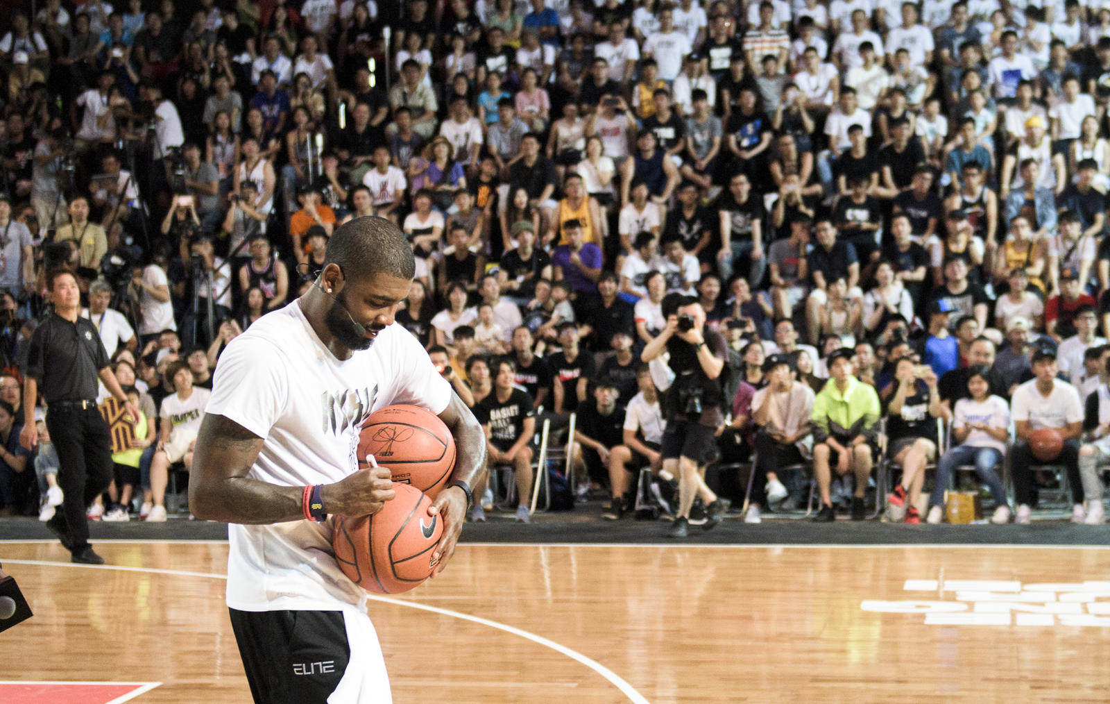 Kyrie Irving Tours Asia with Nike Basketball 23