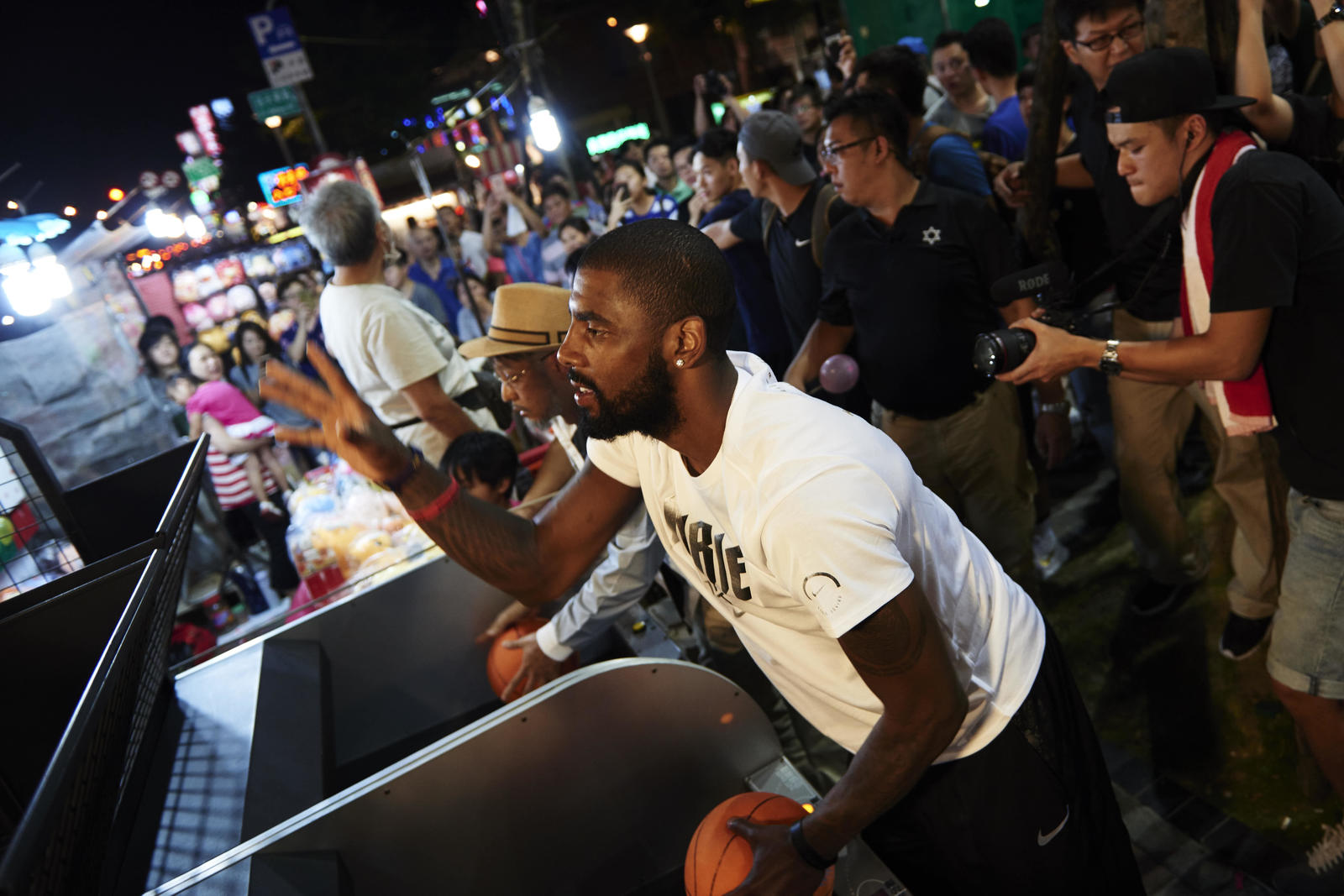 Kyrie Irving Tours Asia with Nike Basketball 32