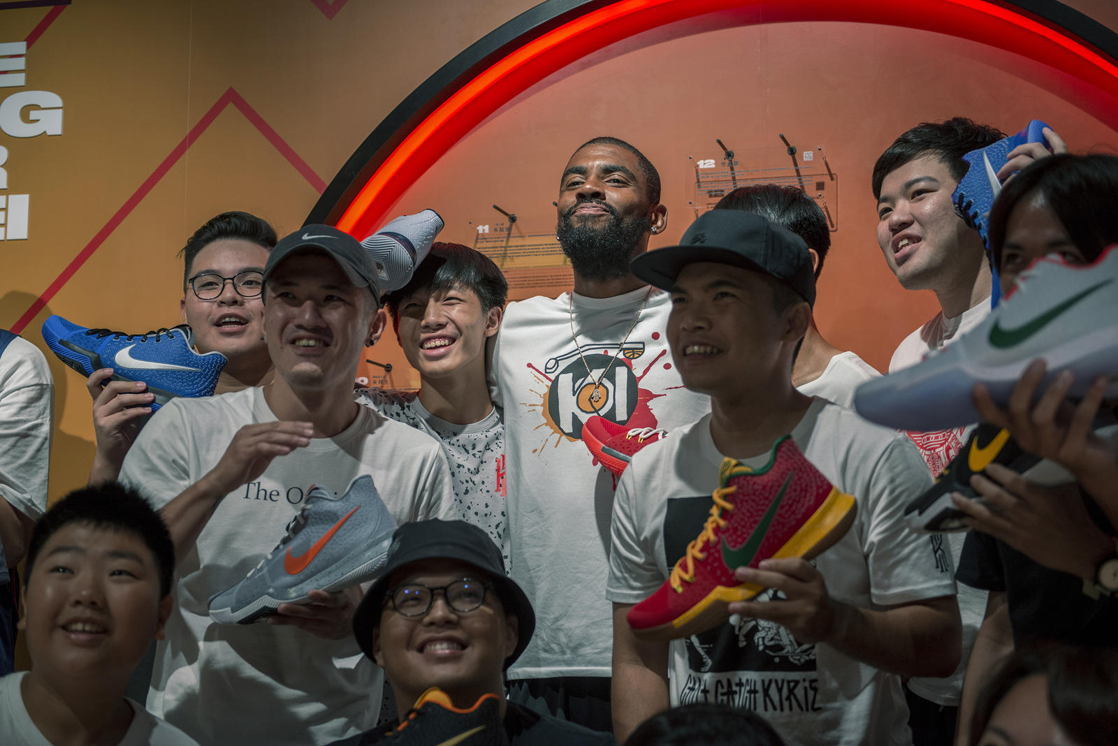 Kyrie Irving Tours Asia with Nike Basketball 52