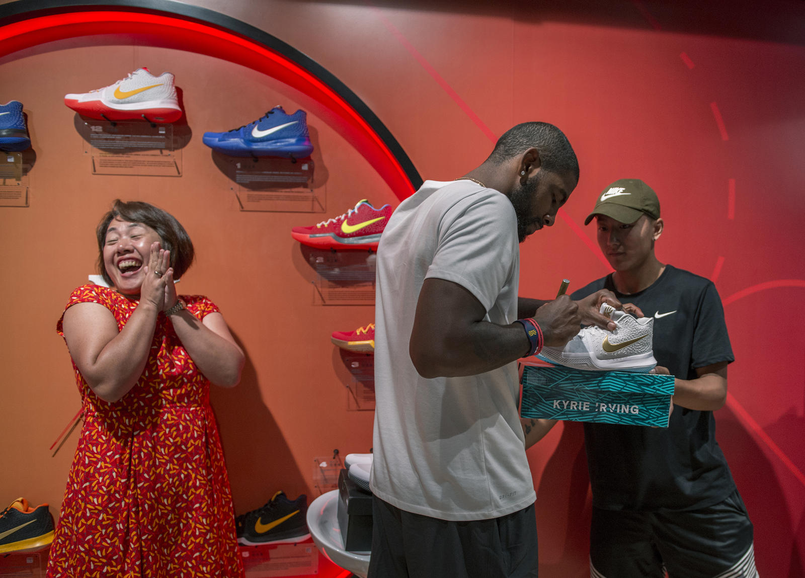Kyrie Irving Tours Asia with Nike Basketball 54