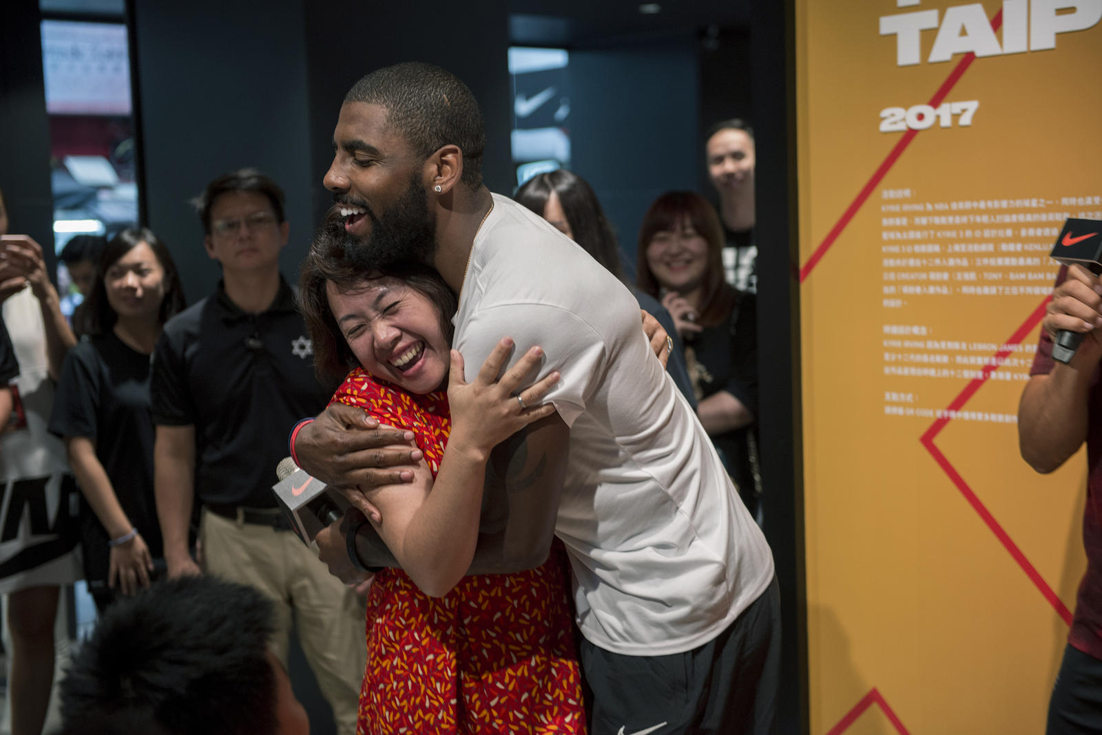 Kyrie Irving Tours Asia with Nike Basketball 57