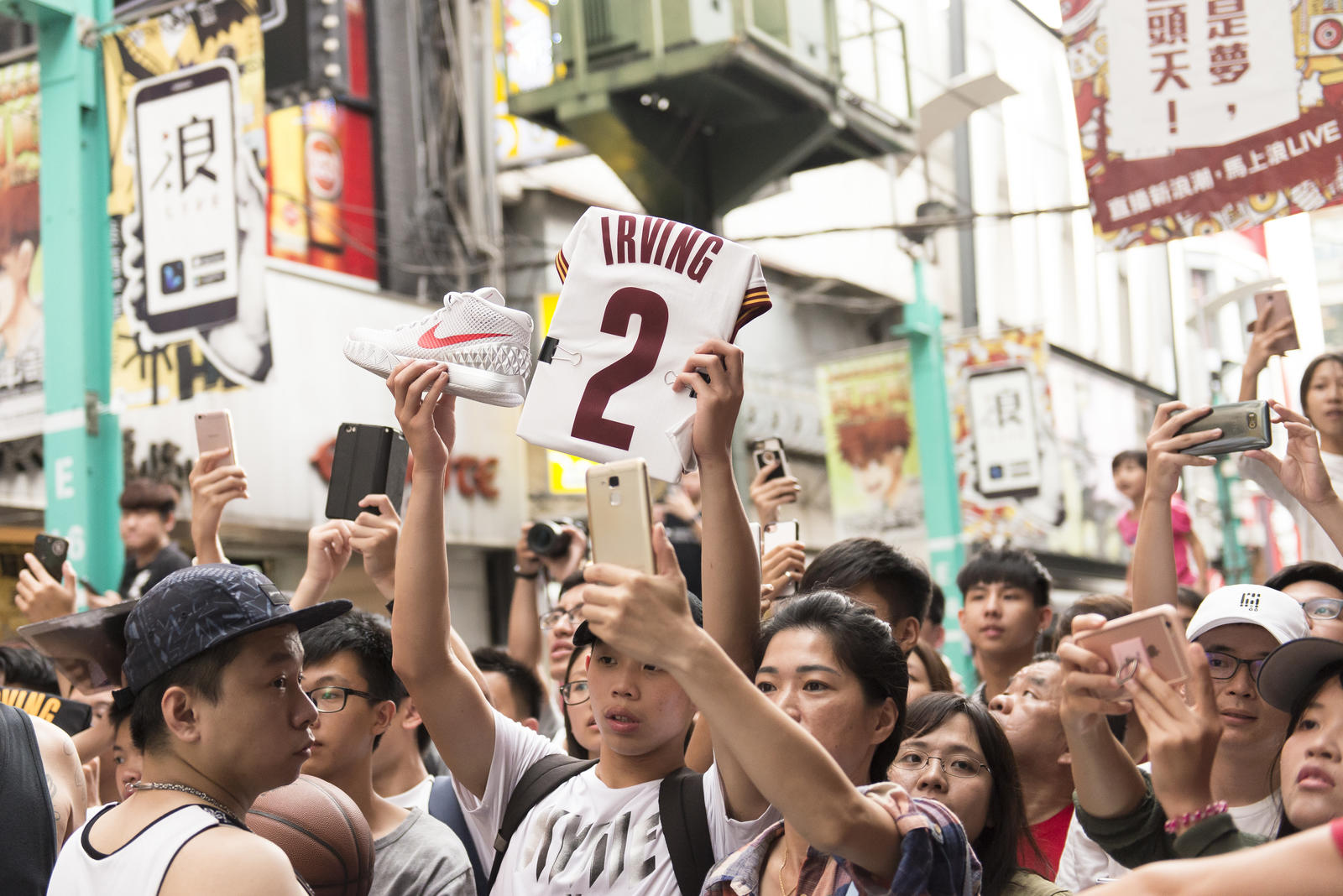 Kyrie Irving Tours Asia with Nike Basketball 61