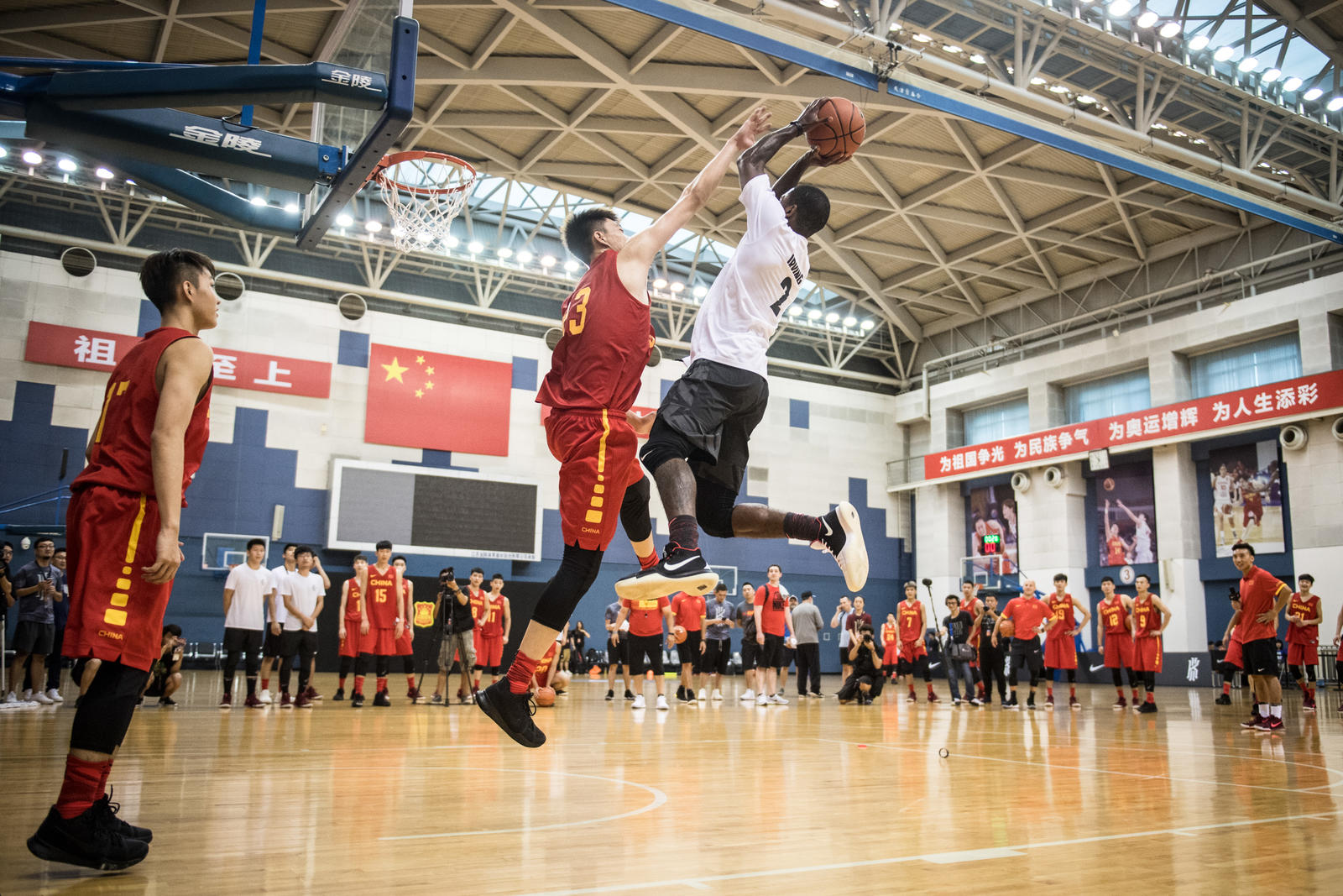 Kyrie Irving Tours Asia with Nike Basketball 62