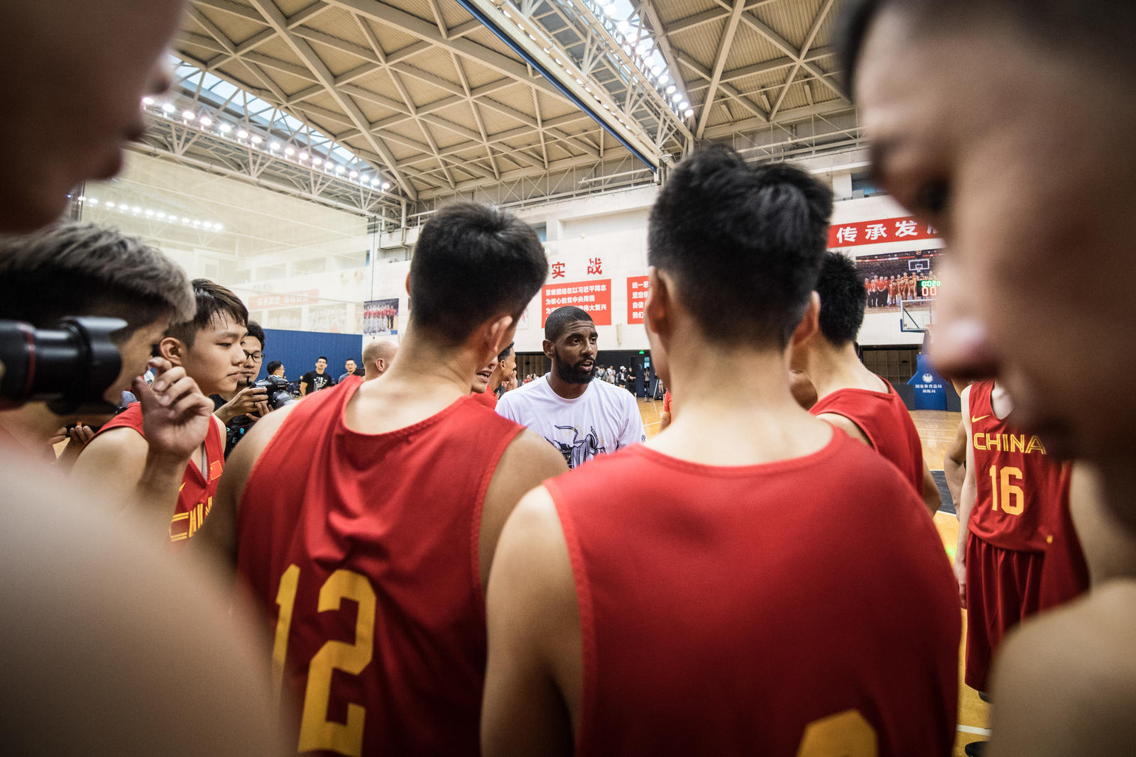 Kyrie Irving Tours Asia with Nike Basketball 66