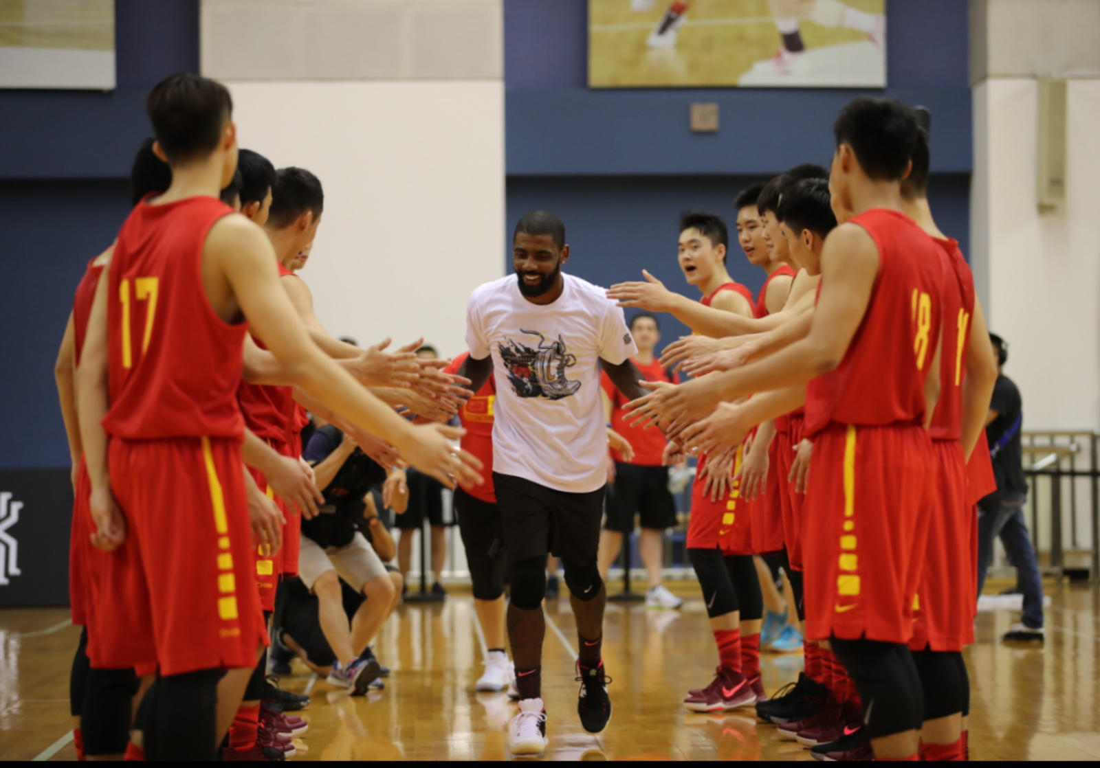 Kyrie Irving Tours Asia with Nike Basketball 69