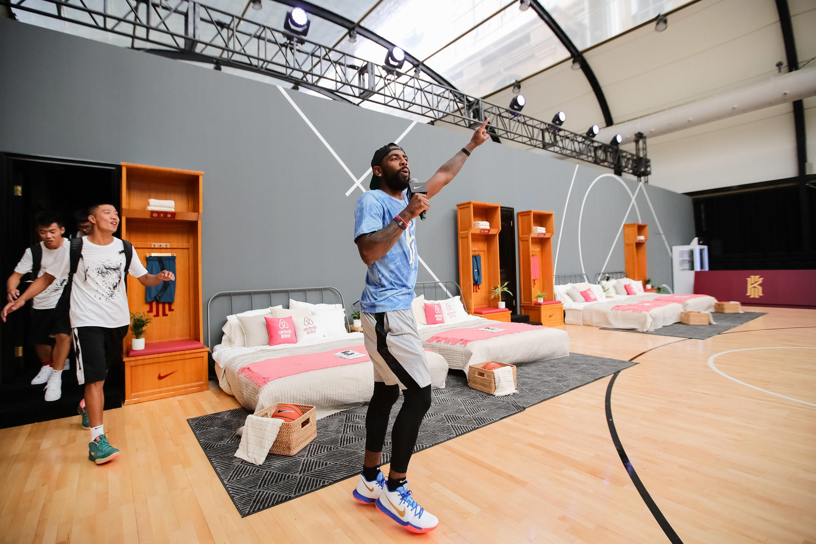 Kyrie Irving Tours Asia with Nike Basketball 76