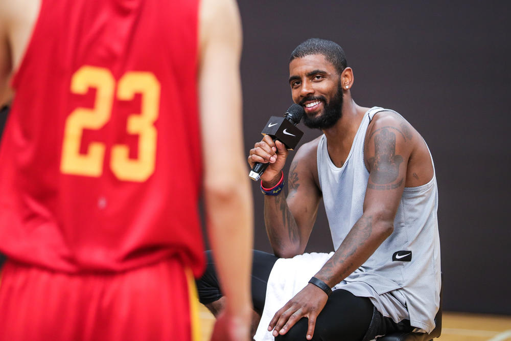 Kyrie Irving Tours Asia with Nike Basketball