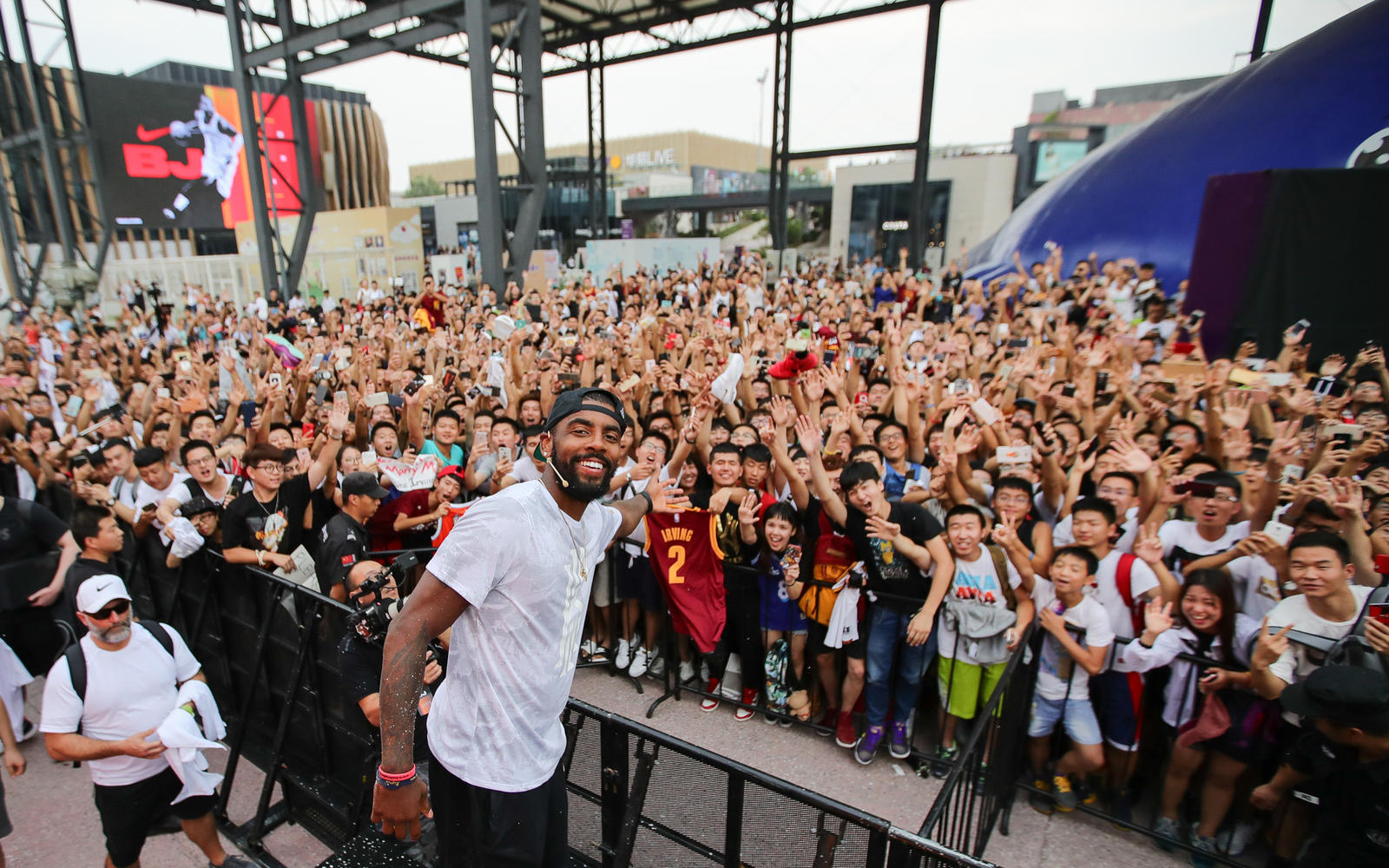 Kyrie Irving Tours Asia with Nike Basketball 78