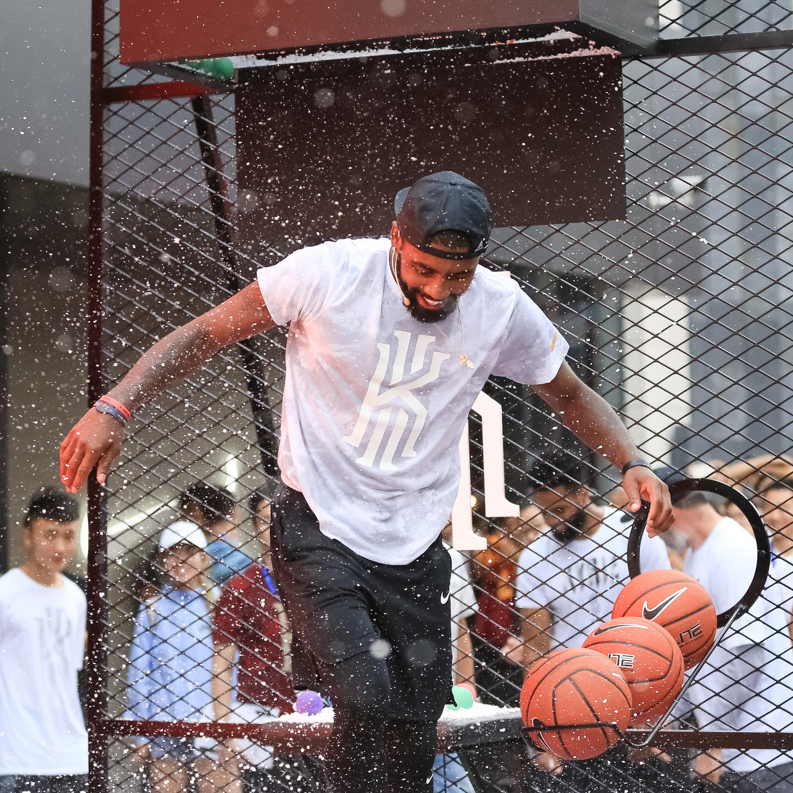 Kyrie Irving Tours Asia with Nike Basketball 80
