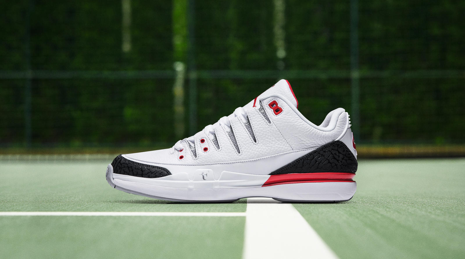 Tennis icon Roger Federer's style and New York City's sneaker culture  collide in the Nike Zoom Air Jordan 3, featured at the first-ever five-day  RF19 Pop-Up ...