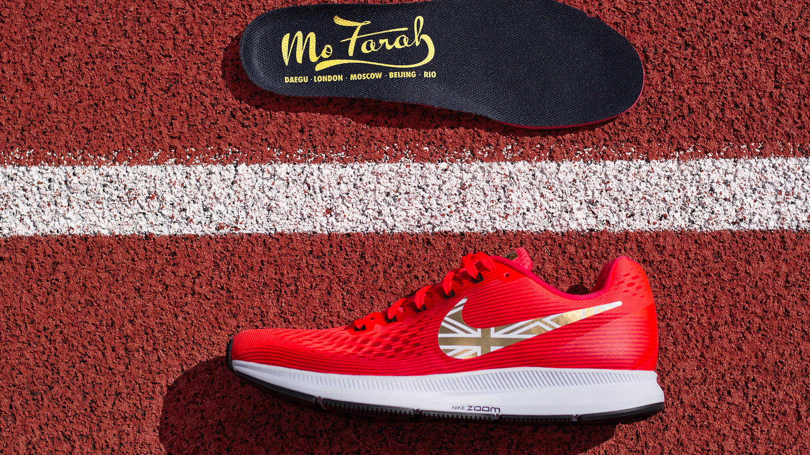 Mo Farah Takes on the London Track One Last Time Nike News