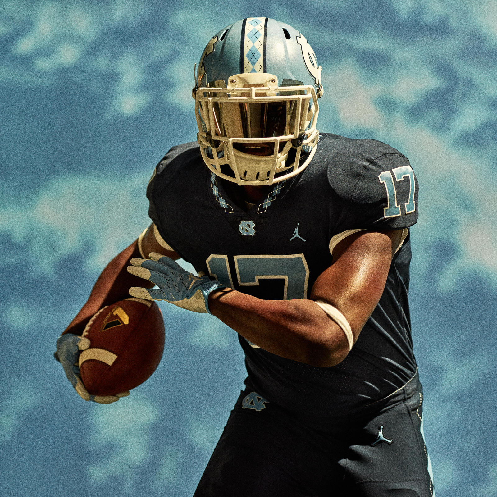 Jordan Brand Reveals the University of North Carolina Football Uniforms  3