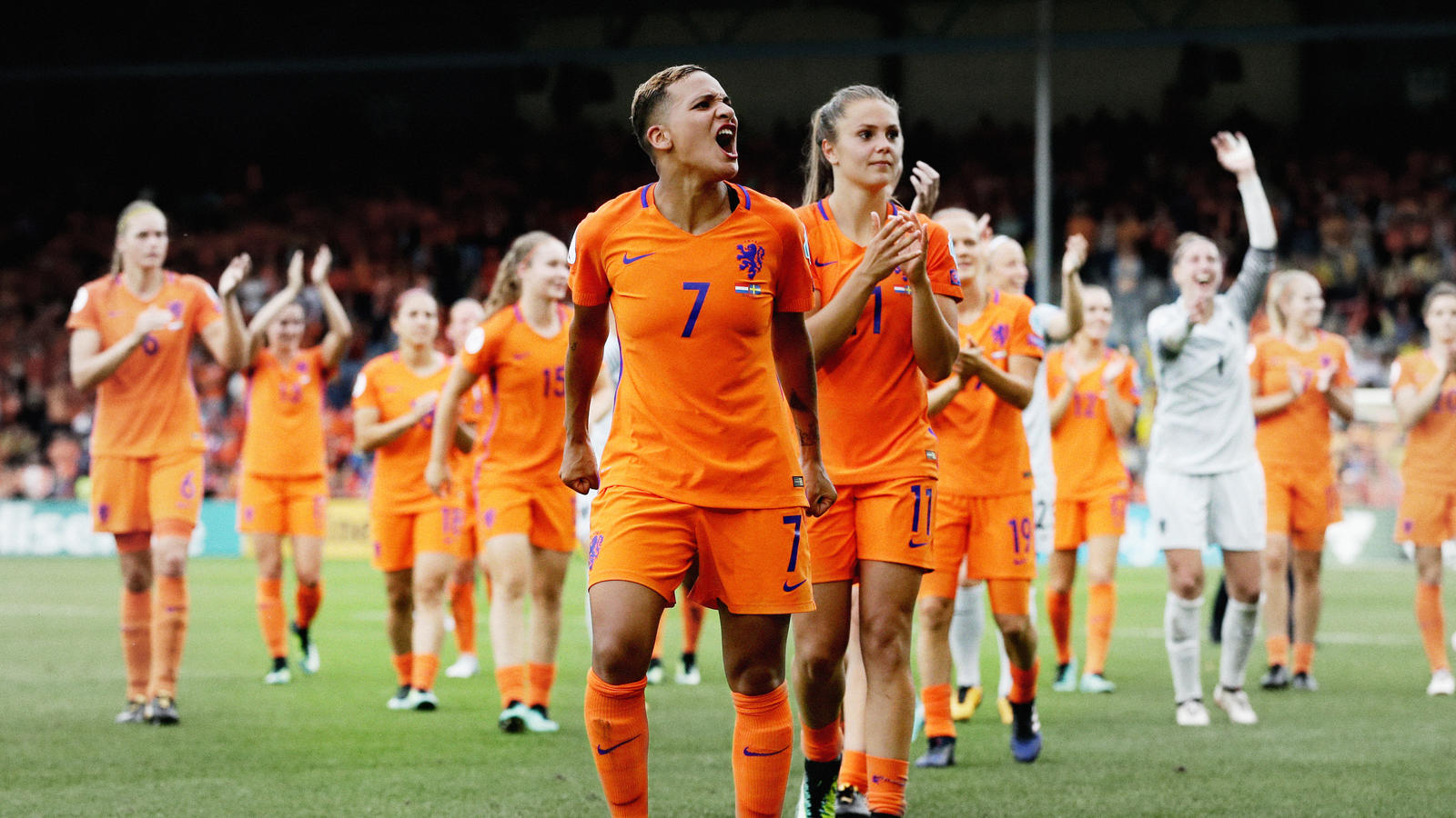 The Netherlands win their first major women's international tournament on home soil