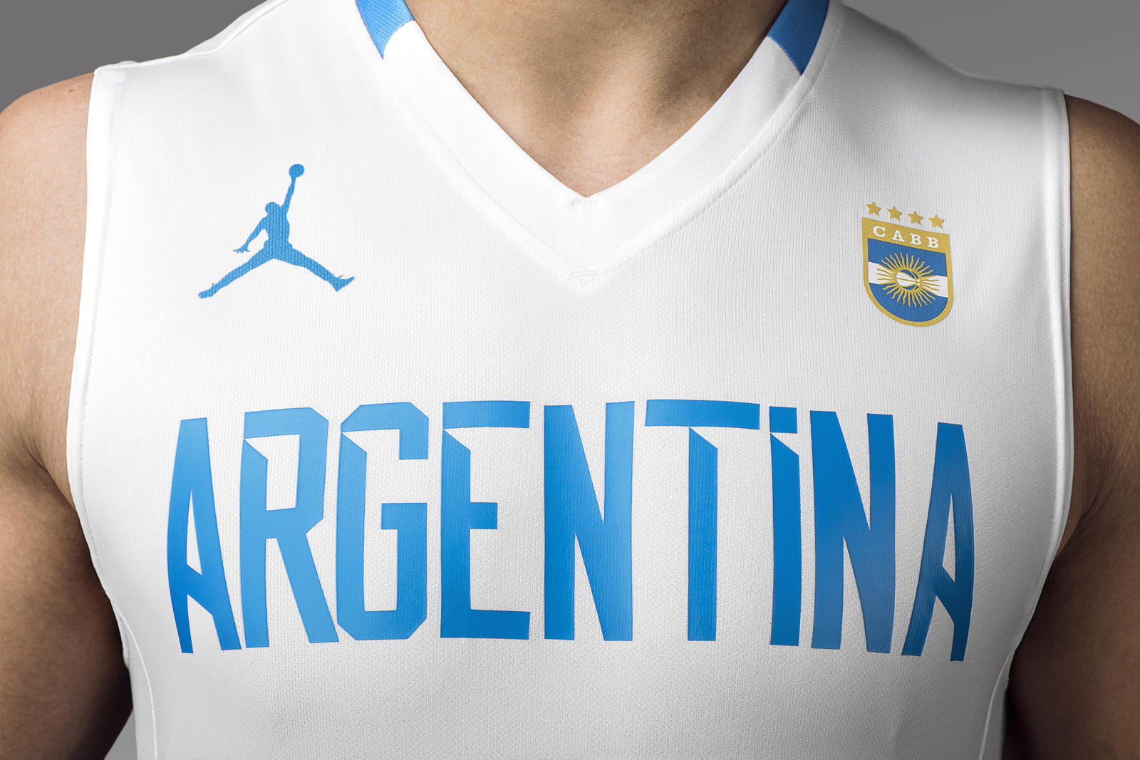 Take a Look at Jordan Brand's New Argentina Basketball Uniform  2