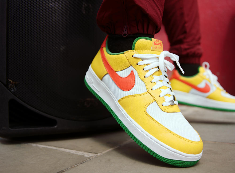 The Nike Air Force 1 Carnival Gets a Wheel Up