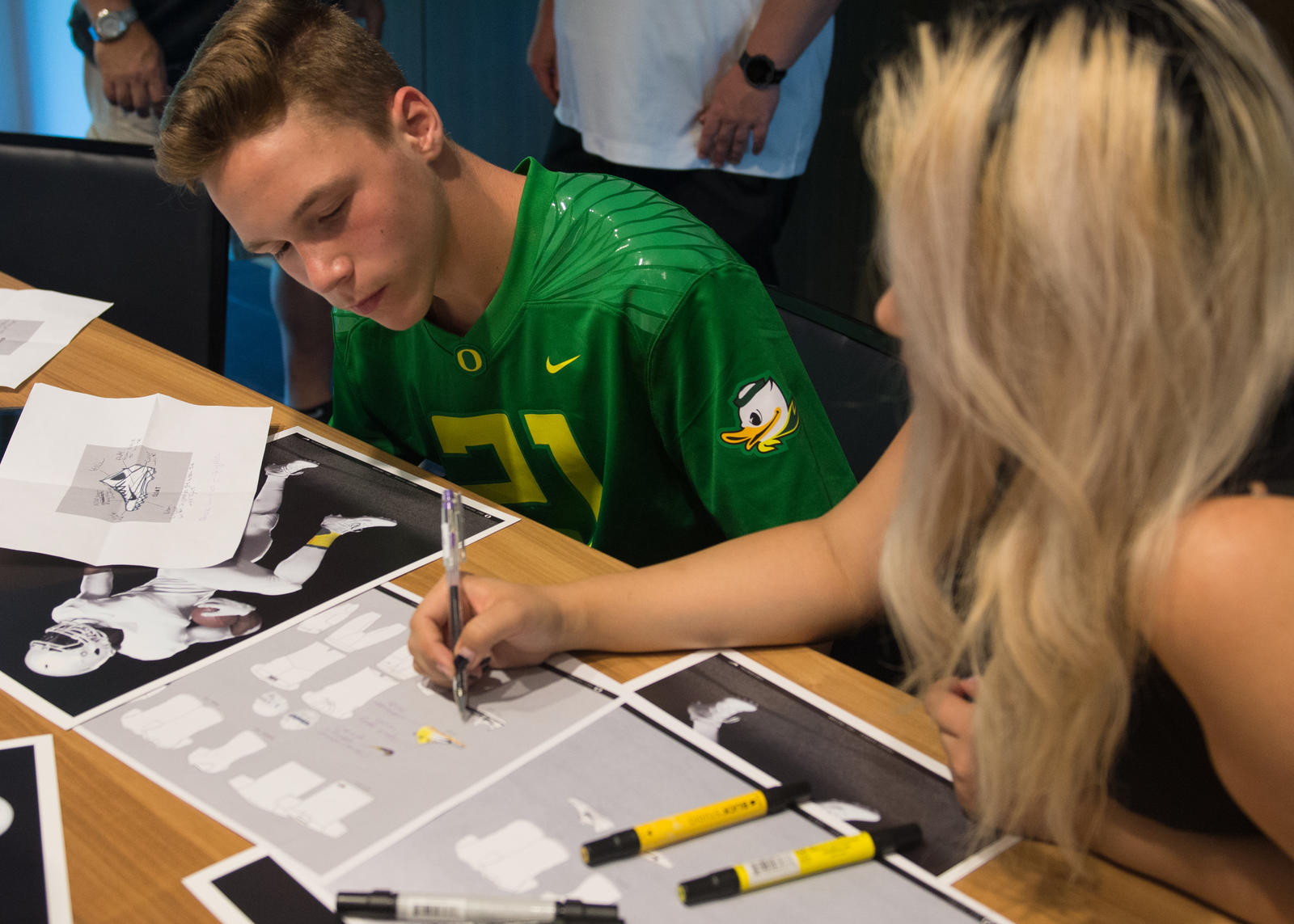 Doernbecher Freestyle Program Designs Latest Oregon Uniforms  3