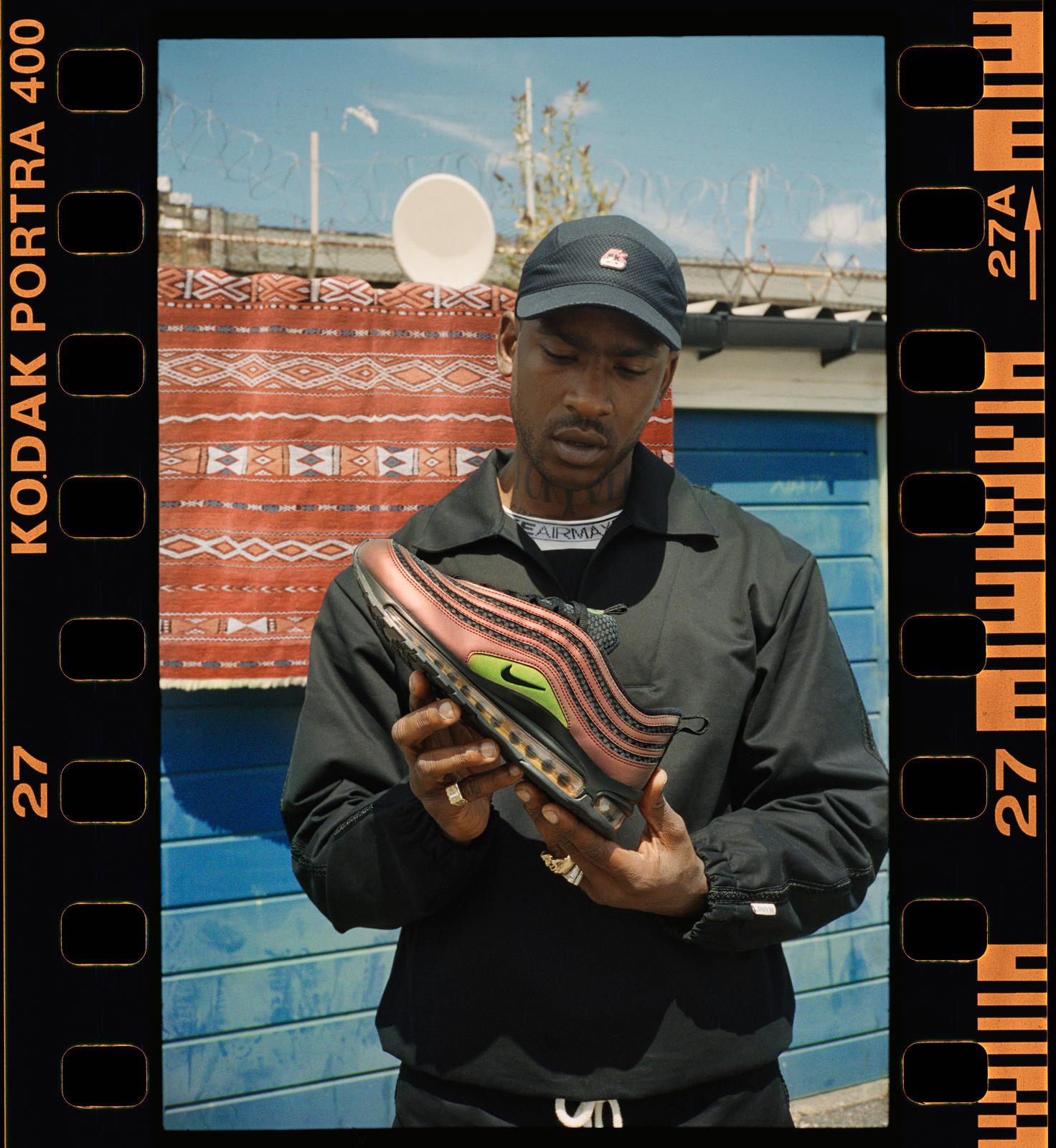 British-Nigerian artist Skepta's signature Air Max 97 is inspired by his love of Nike Air and his home-away-from-London, Morocco. A trip to Essaouira, ...