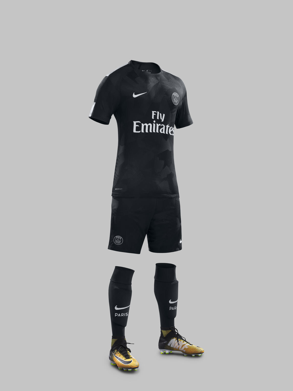 size 40 e7c68 f2187 Neymar Jr. Reveals Paris Saint Germain Third KIT 2017-18 ...