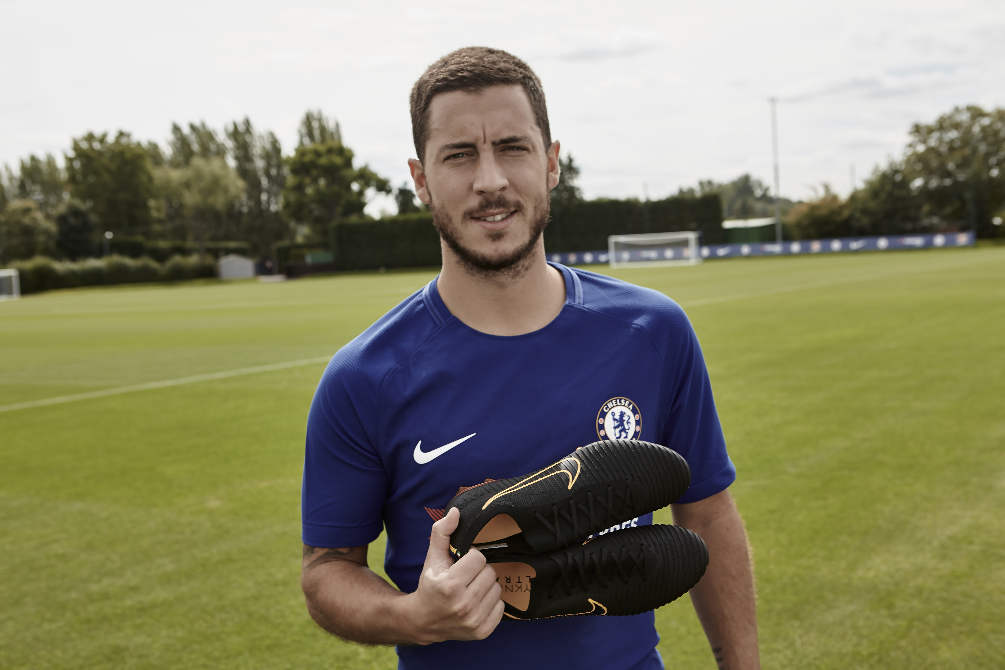 Eden Hazard Debuts the all new Mercurial Vapor Flyknit Ultra and