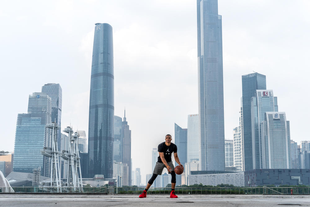 "Russell Westbrook Brings His ""Why Not?"" Approach to Greater China"