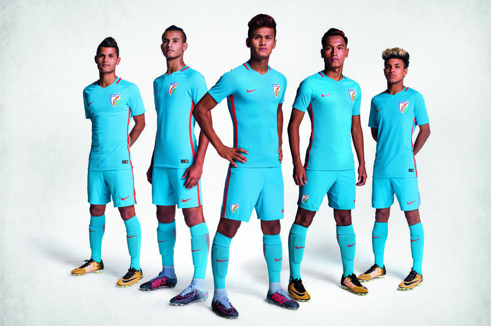 India's New Football Kit Sets Blue Tigers Up to Create History