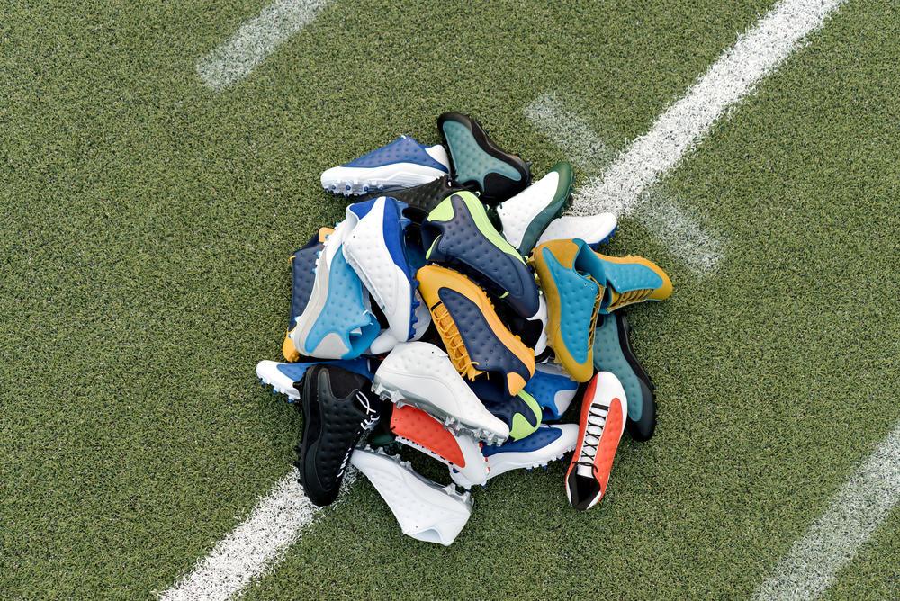 Jordan Brand's Football Roster Debuts New Air Jordan XIII PE Cleats