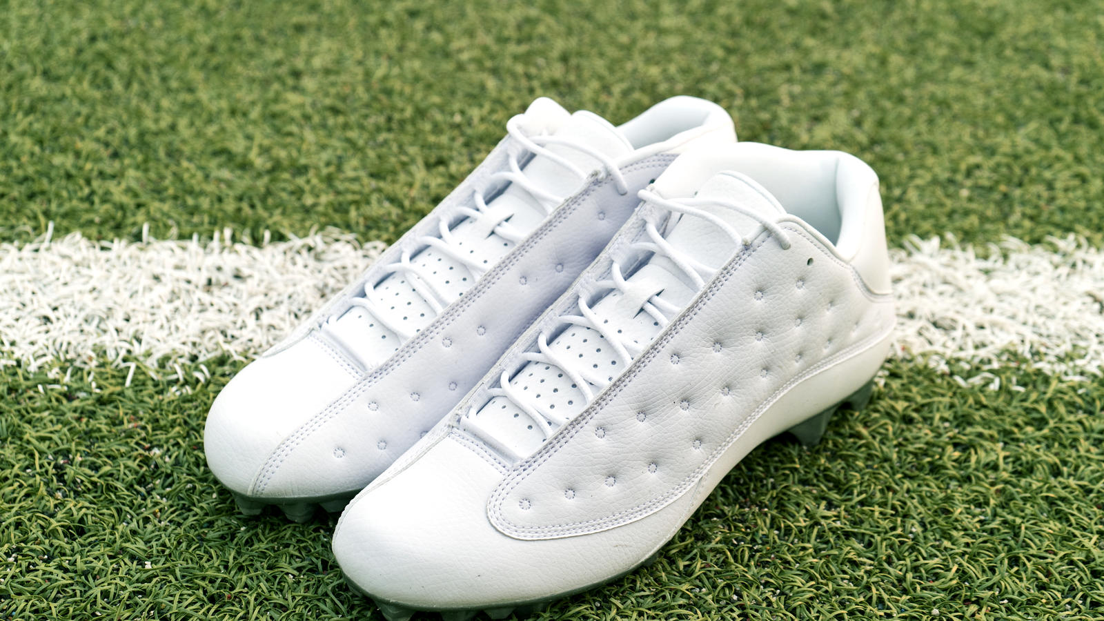 Jordan Brand's Football Roster Debuts New Air Jordan XIII PE Cleats 2