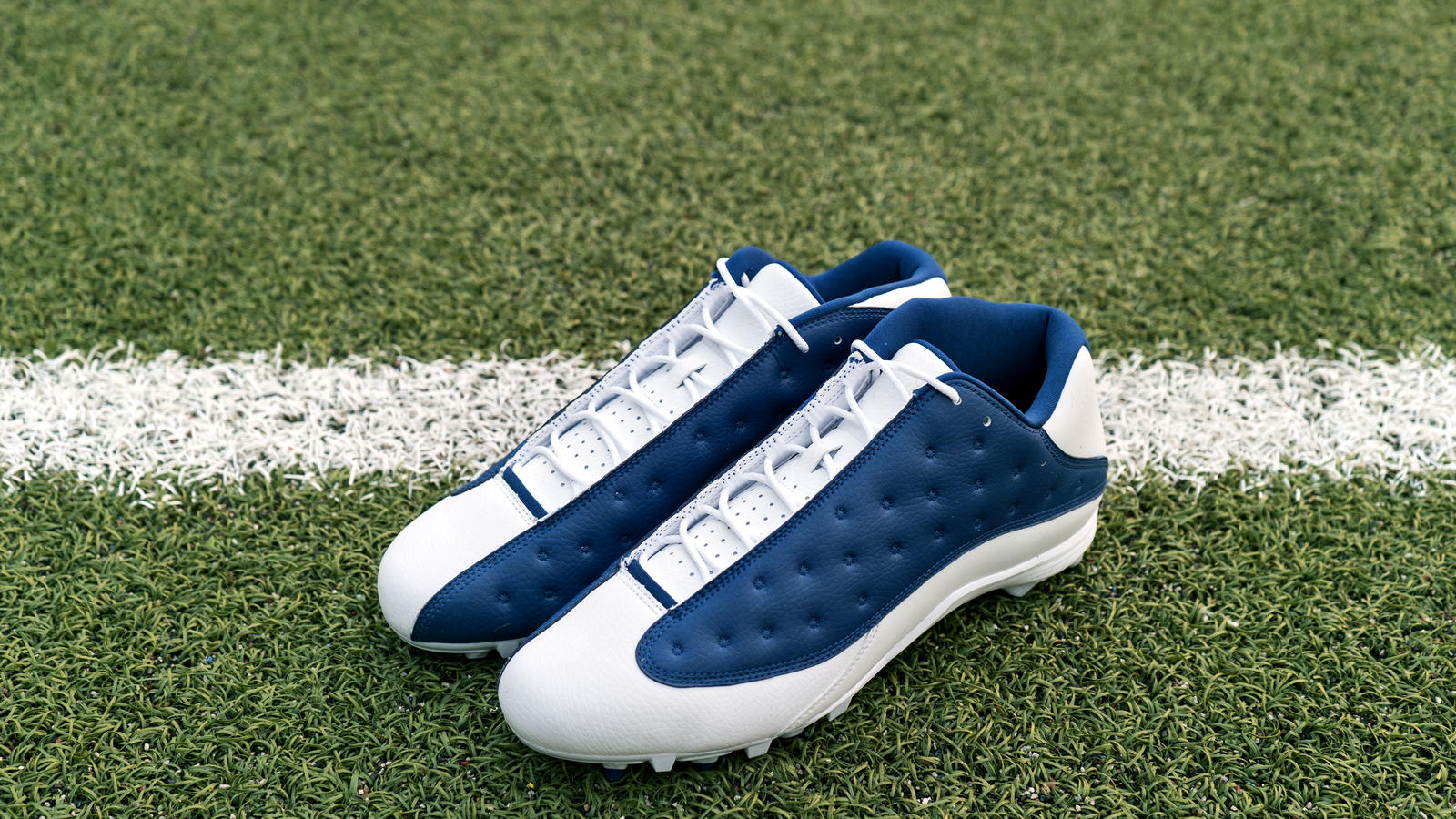 Jordan Brand's Football Roster Debuts New Air Jordan XIII PE Cleats 13