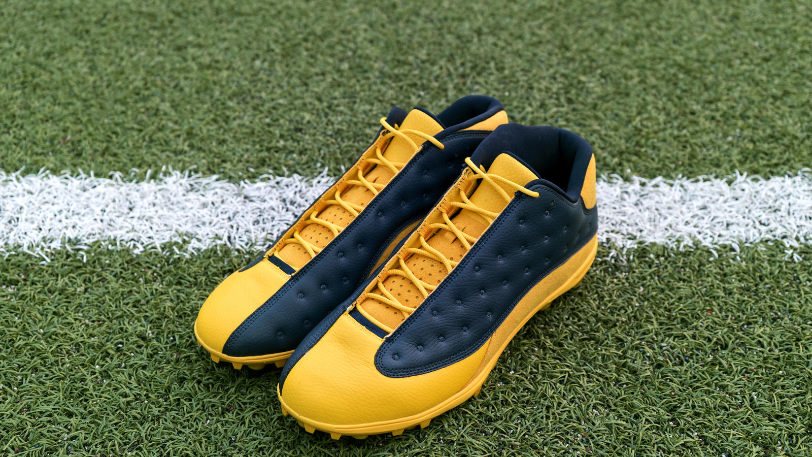 Jordan Brand's Football Roster Debuts New Air Jordan XIII PE Cleats 15