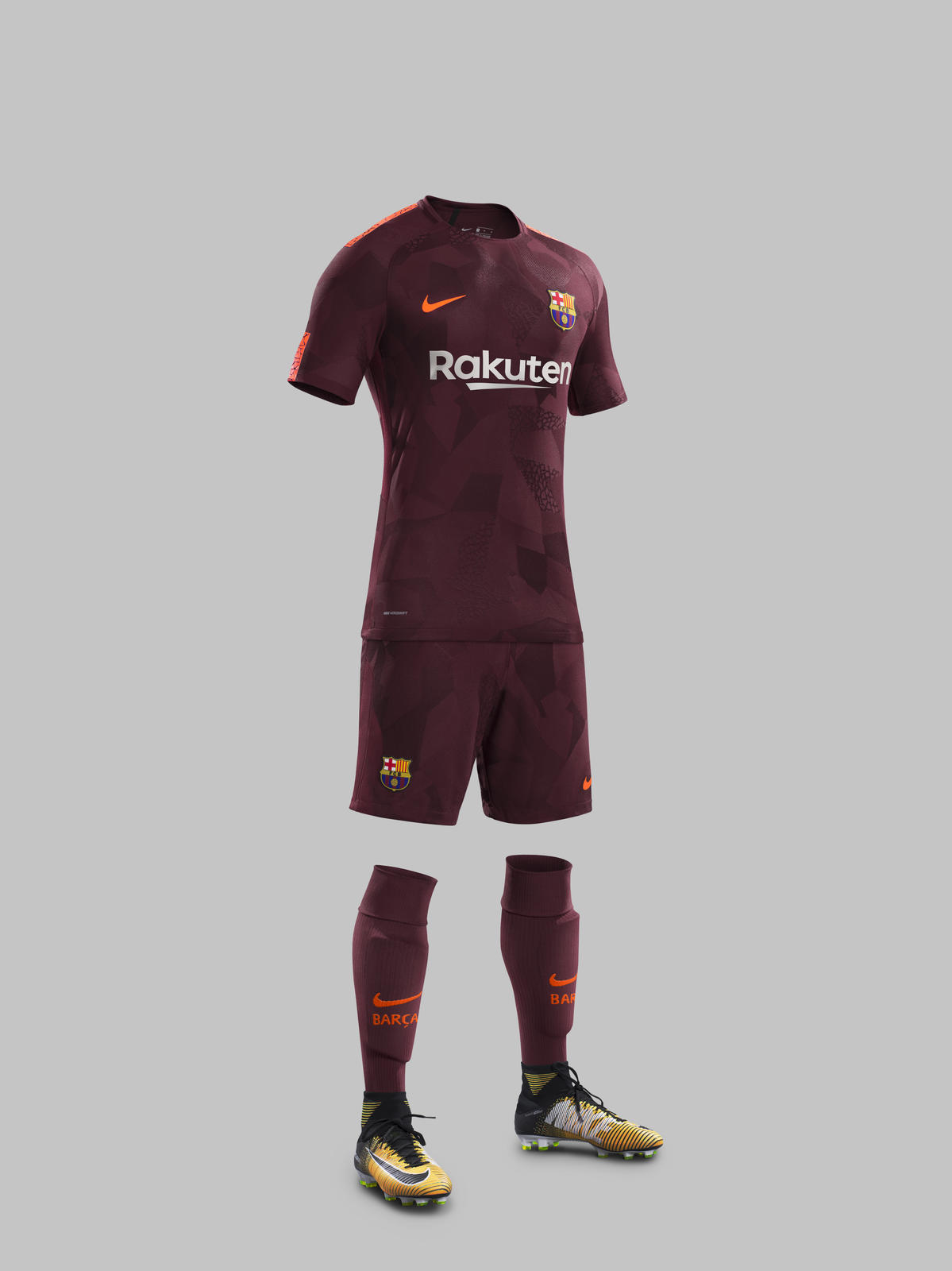 FC Barcelona Third Kit 2017-18 - Nike News