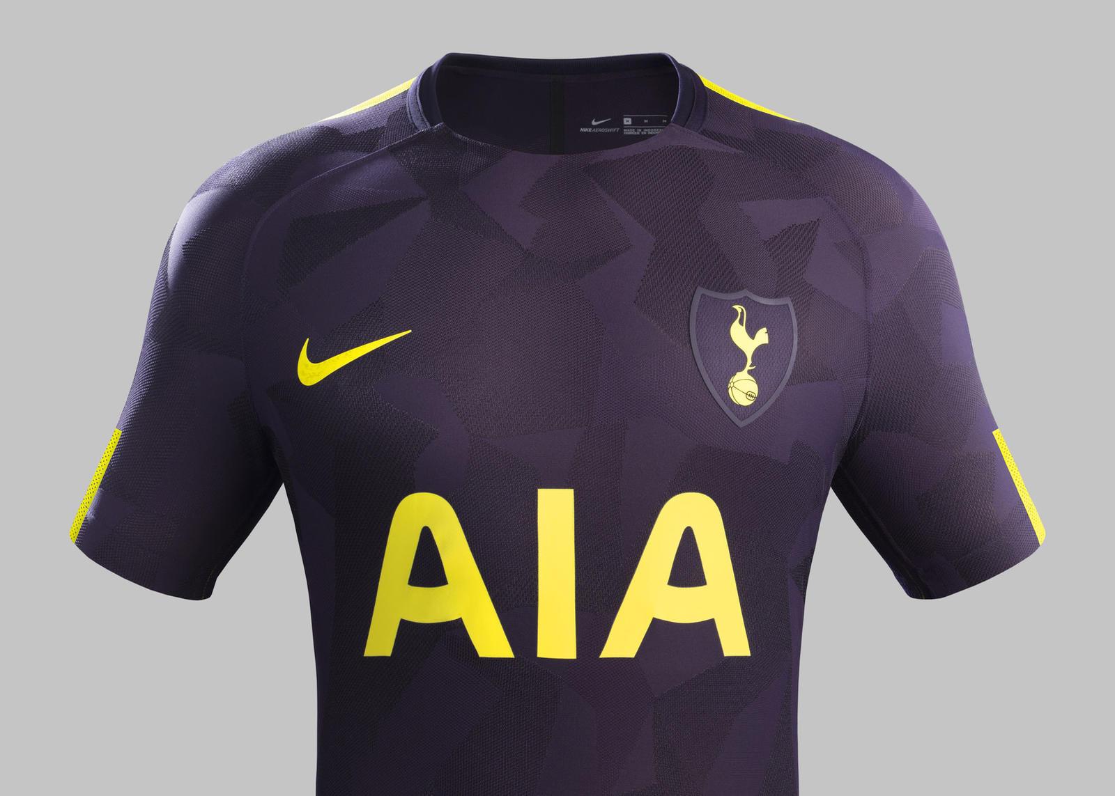 c06df31669a Tottenham Hotspur Unveils Dazzle Camo Third Kit - Nike News