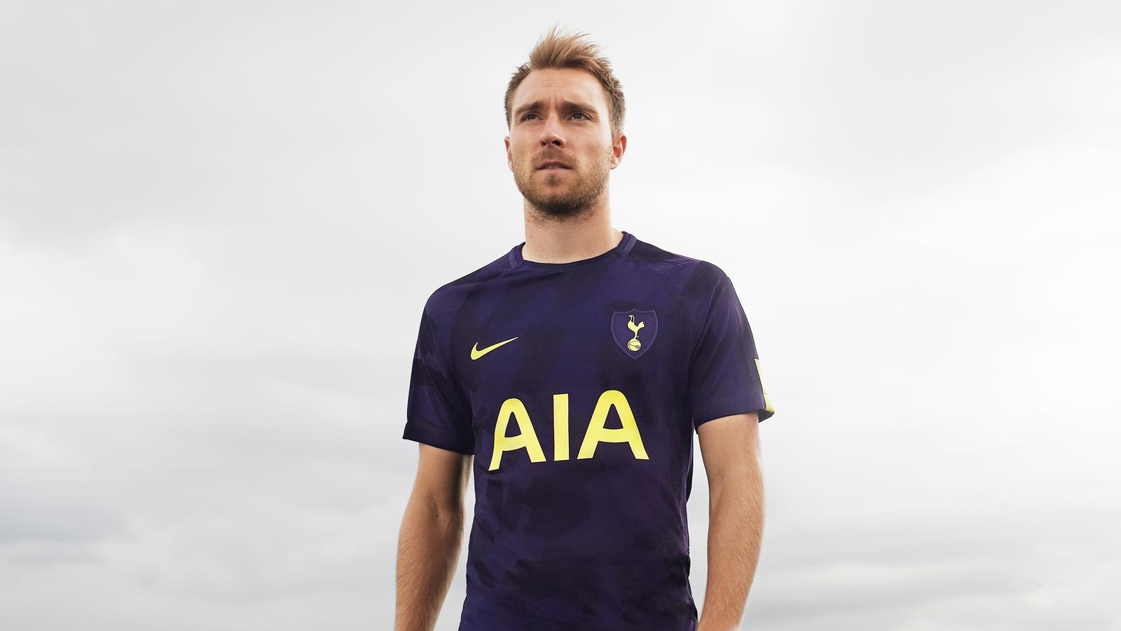 classic fit 98f00 a0bad Tottenham Hotspur Unveils Dazzle Camo Third Kit - Nike News