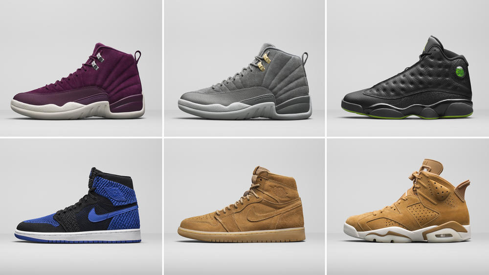 Jordan Brand Unveils Select Retro Styles for The Holiday Season