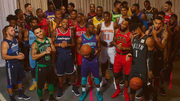 Here Are All of Nike's NBA Statement Edition Uniforms