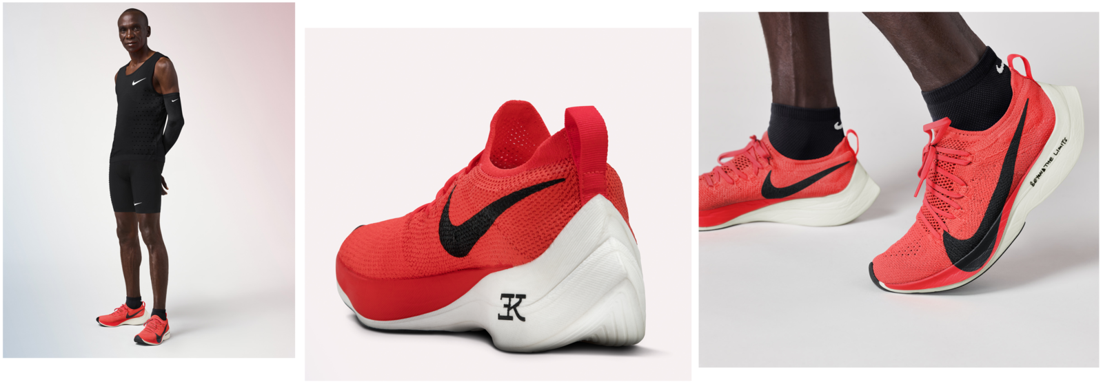 online retailer a4631 608b4 Eliud Kipchoge Goes for a World Record in Berlin 2. Kipchoge s custom  version of the Nike Zoom Vaporfly Elite.
