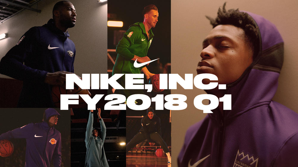 NIKE, Inc. Reports Fiscal 2018 First Quarter Results