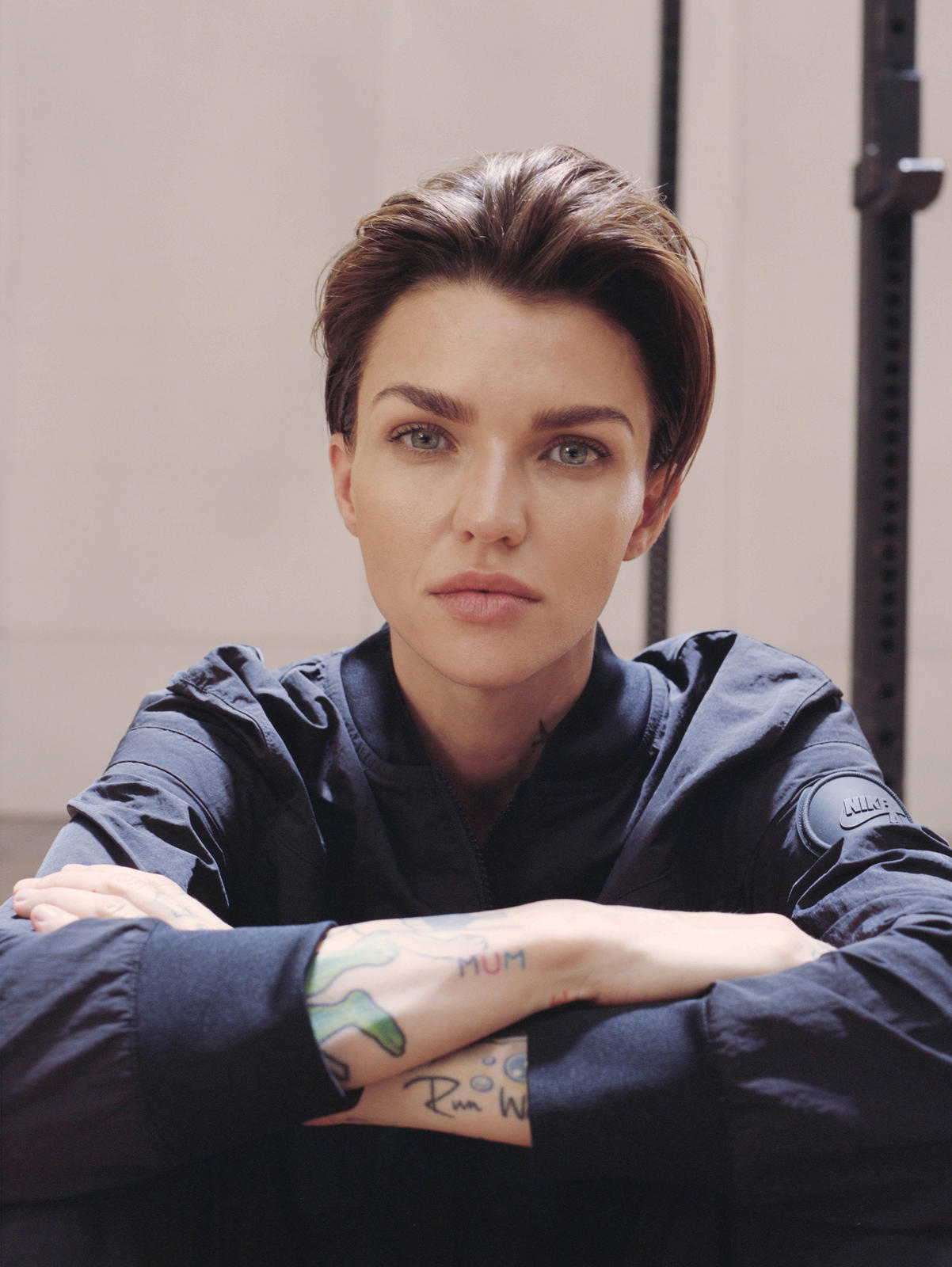 e192e5e2c47 Force is Female Celebrates Ruby Rose s Relentless Drive - Nike News