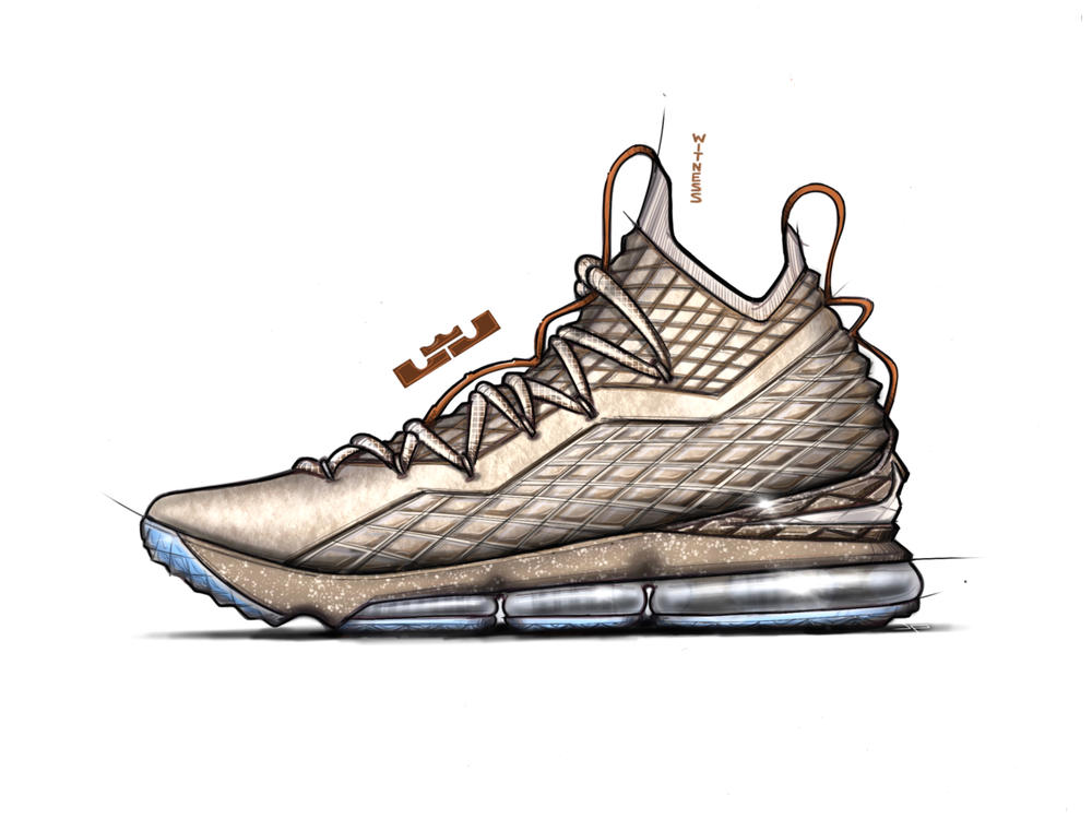 Jason Petrie on the LEBRON 15