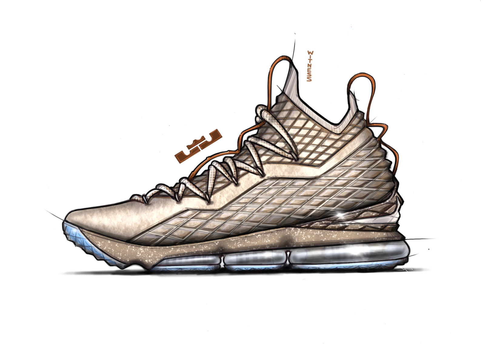 The LEBRON 15 GHOST