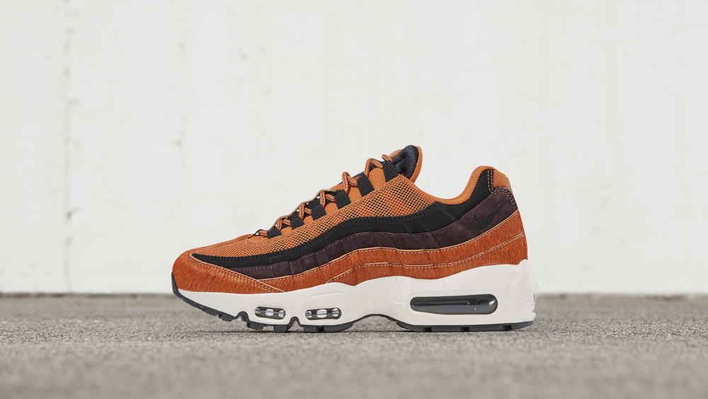 Nike Air Max 95 Embossed-Fur Cider
