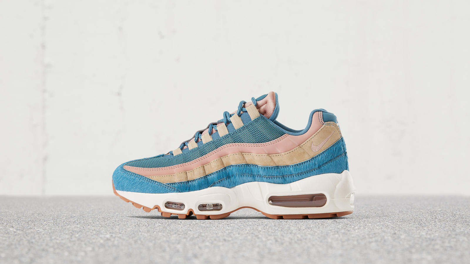 Air max 95 blue fur 3 native 1600