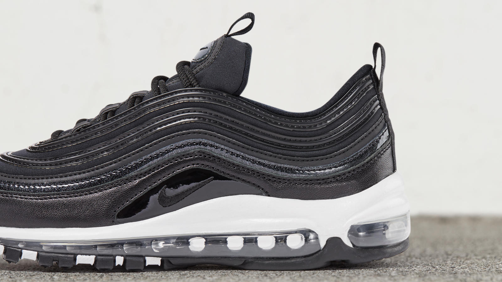 Air max 97 metallic lea black 3 native 1600
