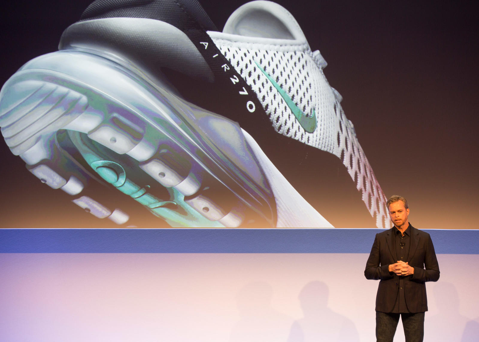 Mark Parker Nike Air Max 270 Investor Day 2