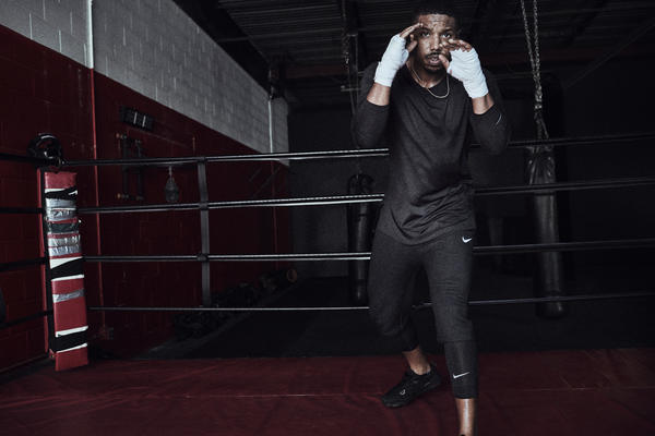 Michael B. Jordan Shares His Training Tips and How to Not be a Quitter