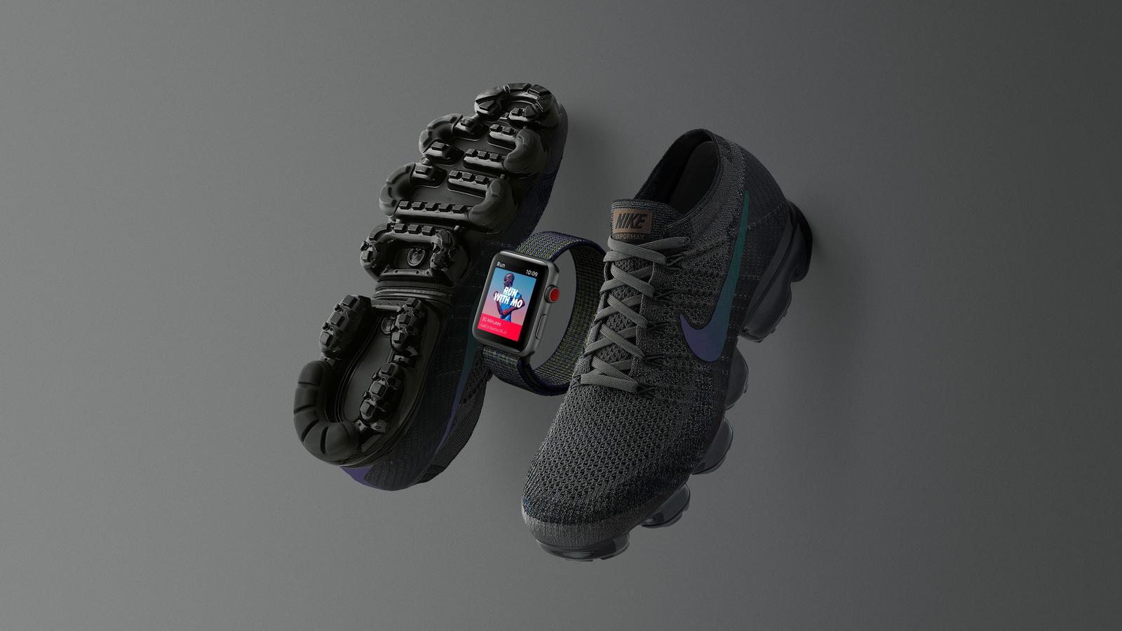 Midnight Fog Nike Apple Watch