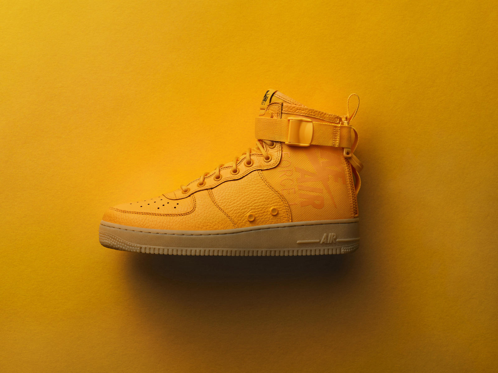 OBJ's debut signature lifestyle shoe, the SF AF-1 Mid