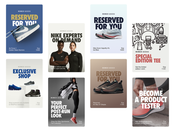 Three New NikePlus Membership Unlocks Deliver Exclusive Access