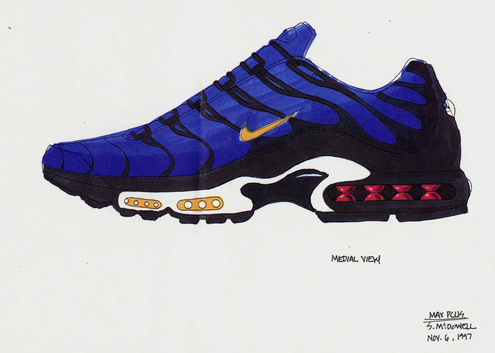 Nike air max plus tn sketch 2 native 1600