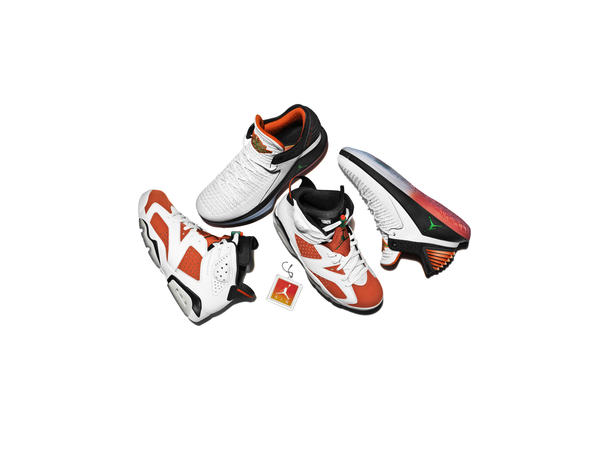 "Jordan Brand Unveils ""Like Mike"" Collection In Partnership With Gatorade"